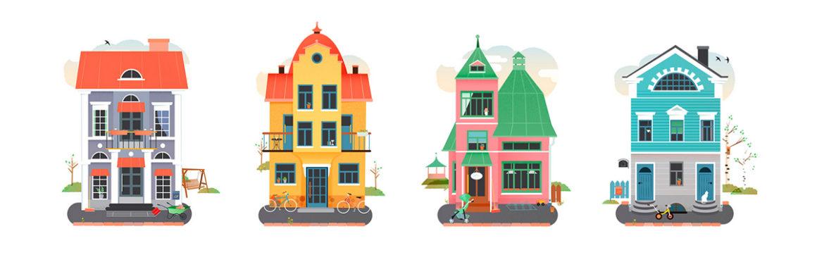 Houses for Medifamilia.