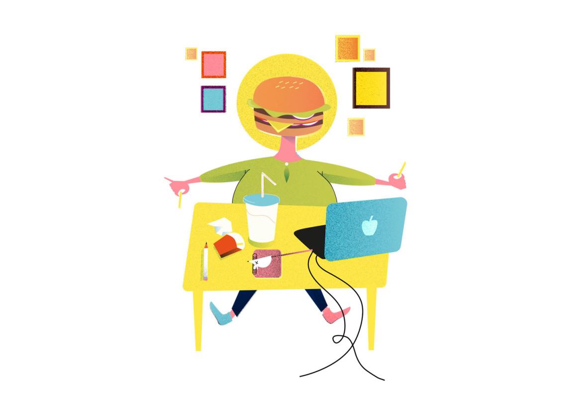 #kuvitus, #kuvittaja, #hyvinvointi, # henna Ryynänen